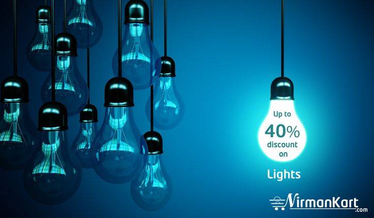 Shop LED, CFL lights, Bulbs with great discounts.