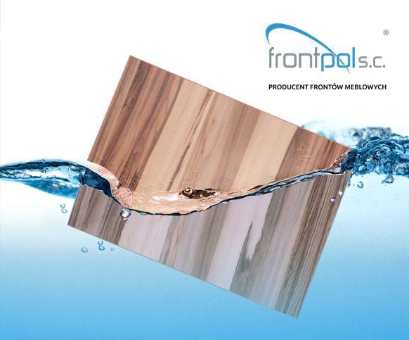 KOLEJNA NOWOŚĆ W OFERCIE Już od sierpnia dostępne FRONTY AKRYLOWE firmy Frontpol. Firma Frontpol istnieje od 2008 roku, dali się poznać jako solidny wykonawca frontów meblowych w wysokim połysku akryli oraz polygloss i polymatt z płyt niemieckiego producenta frontów NIEMAAA MOBELTEILE.