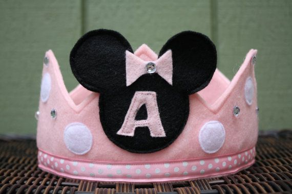 Hey, I found this really awesome Etsy listing at http://www.etsy.com/listing/98600545/minnie-mouse-felt-crown-light-pink