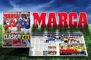 El diario Marca crea en Colombia la primera franquicia de un periódico deportivo a nivel mundial