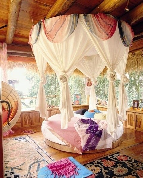 Inner sanctum Bedouin tent: Circles Beds, Dreams Rooms, Dreams Beds, Canopy Beds, Tree Houses, Girls Rooms, Treehouse 3, Dream Rooms, Girl Rooms