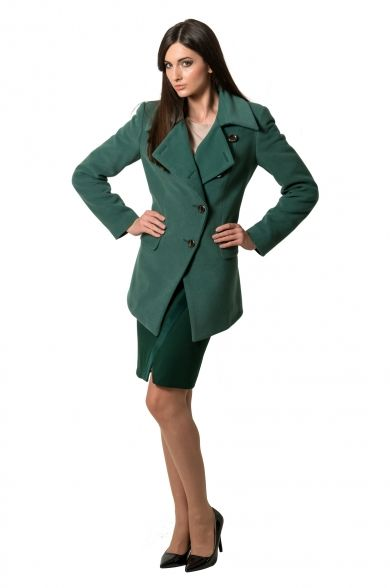 Jacheta stofa verde