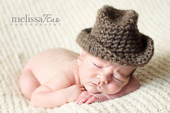 so cute!: Baby Fedoras, Cute Crochet, Cowboys Hats, Baby Cowboys, Fedoras Hats, Cute Hats, Crochet Fedoras, Baby Boys, Knits Hats
