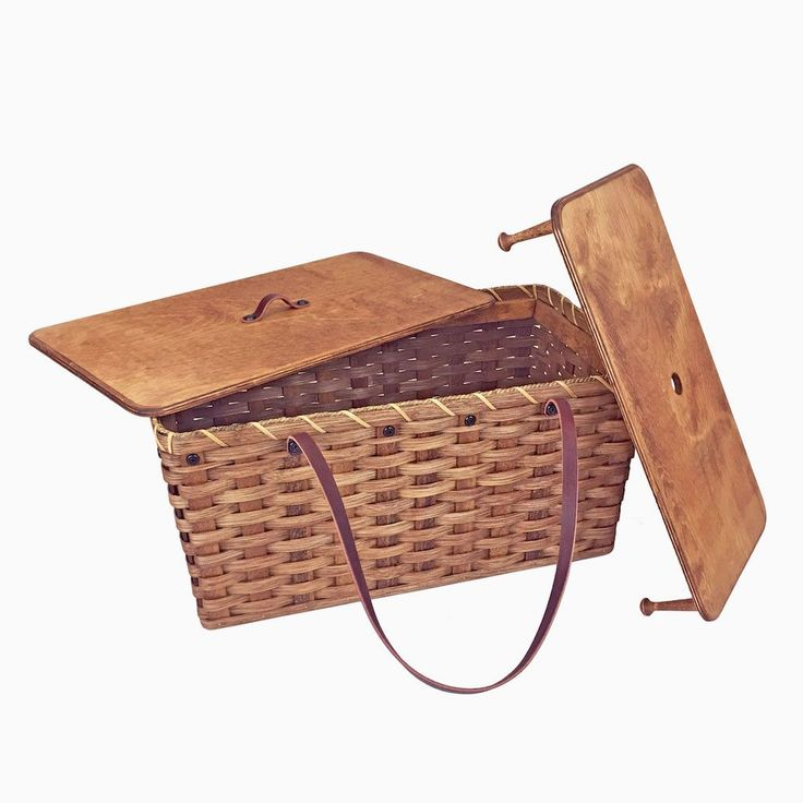 If you're looking for a large, top-of-the-line picnic basket, you'll love this one. This heavy-duty, Amish handmade, large picnic hamper basket is the ultimate in durability and versatility. The uses #cookingforbeginners
