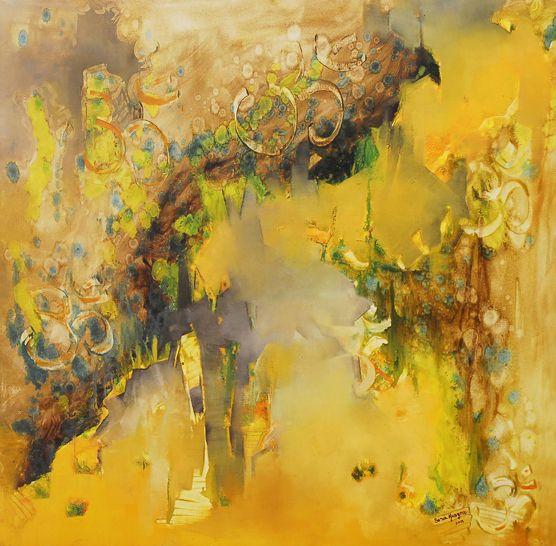 """Portal 11:11"" - Sonia Kusznir - Oleo sobre tela -  100 x 100 cm www.esencialismo.com"