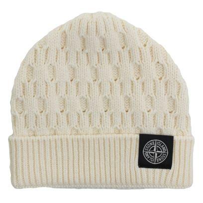 Stone Island - Wool beanie hat