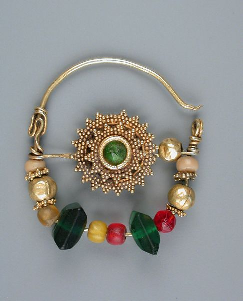 Gold Nose rings | Central Asia/Afghanistan.