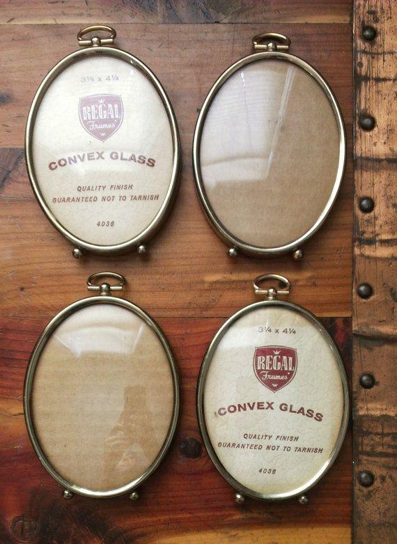 Regal Frames Convex Glass Vintage Picture Frame | Vintage picture ...
