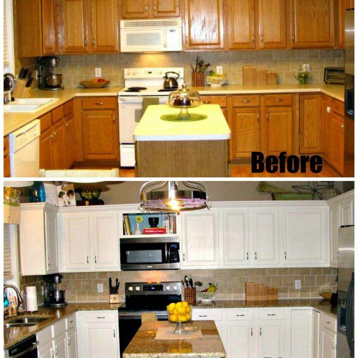 Lesen Sie, wie man eine Küche mit kleinem Budget umgestaltet