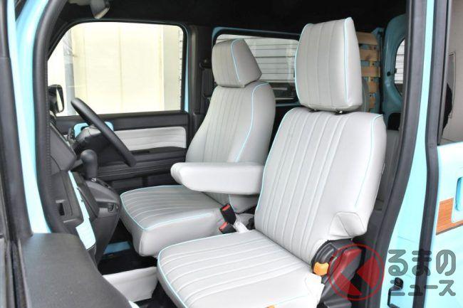 ホンダ N Van がレトロ調に大変身 80年代風カスタムを提案したワケとは くるまのニュース 2020 ホンダ N レトロ調 キャンピングカーライフ