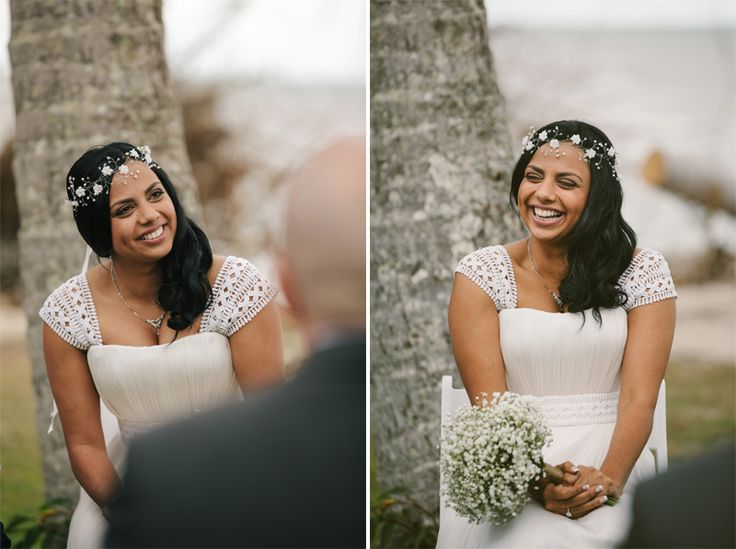 Gorgeous smile on a gorgeous bride | Newell Beach wedding | Zen Photography | Cairns Wedding and Portrait Photography - 2/19 - Documentary wedding and portrait photography | Cairns, Australia Hair and makeup