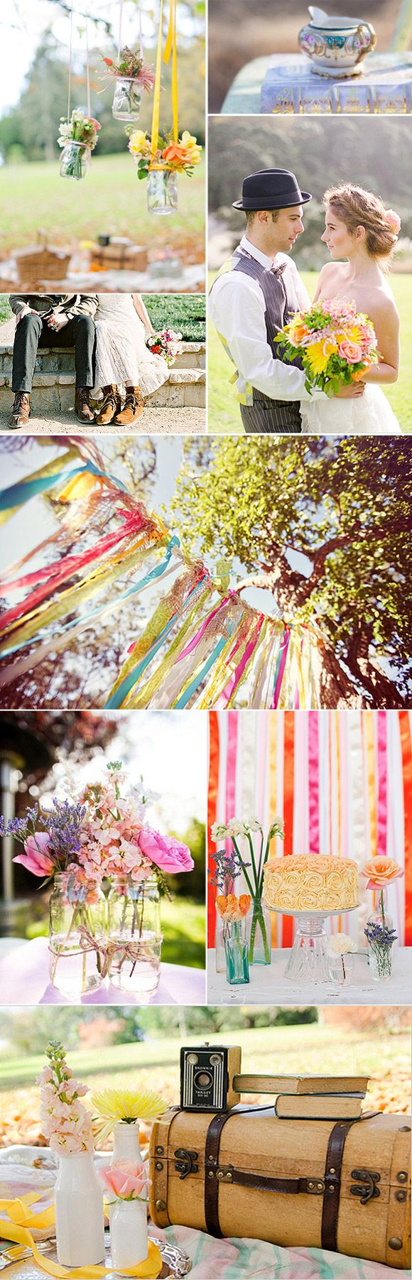 Ideas para decorar una boda estilo boho chic