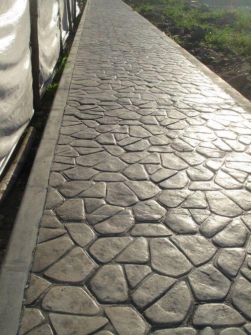 más de 25 ideas increíbles sobre concreto estampado en pinterest