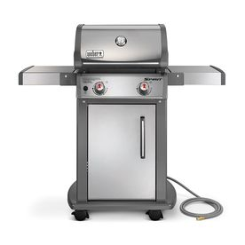 Weber Spirit S-210 Stainless Steel 2-Burner Natural Gas Grill 47100001