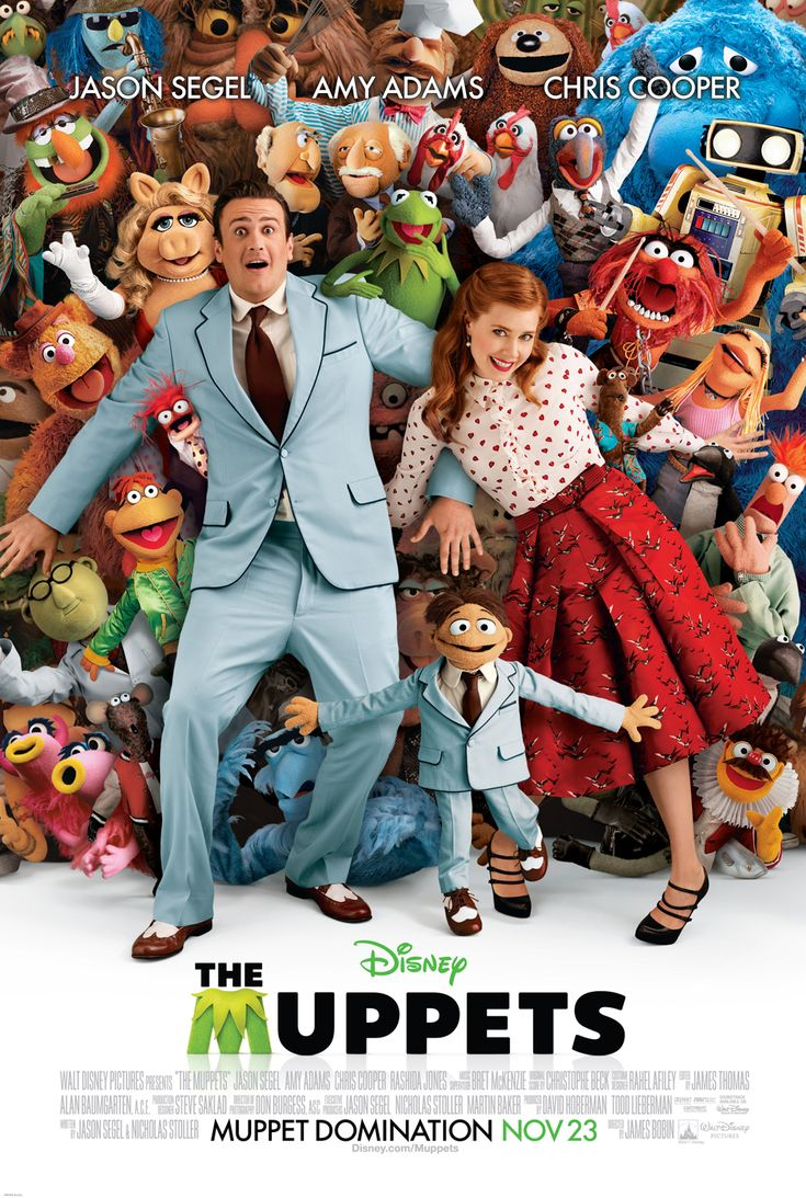The Muppets (2011) — Not the first time I'd seen it, but it deserves more than one viewing.