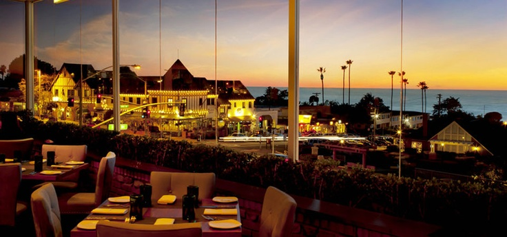 View from the dining room at Flavor Del Mar!  Maybe we'll go again this weekend...