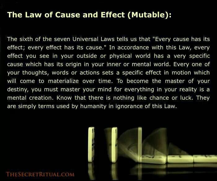 The law of cause and effect | good quotes | Pinterest | To share ...