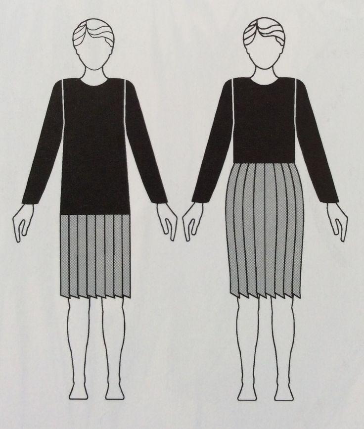 proporções, linhas e formas