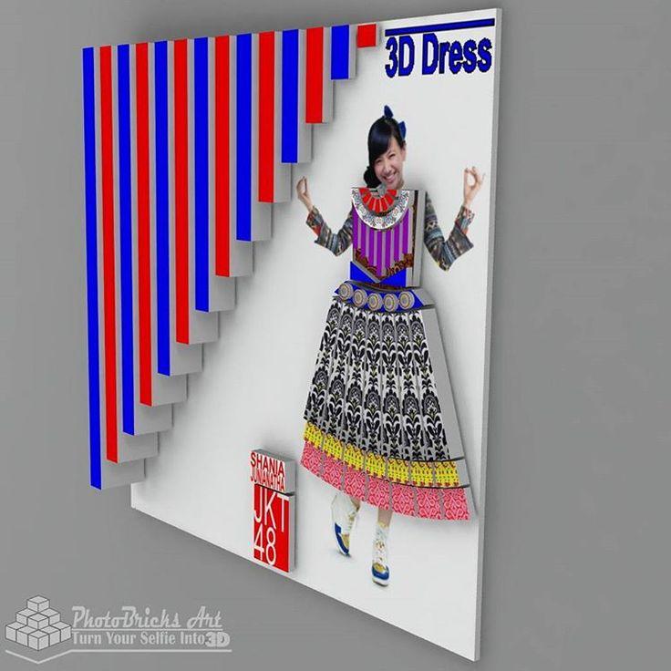 3D Dress mediumSkirt model (no case view). Size 30x30 cm. Wanna purchase? Check our bio for more info. #interior #walldecor #decoration #interiordesign #creativeindustry #craft #art #gift #creative #creativeart #desainunik #desainkreatif...