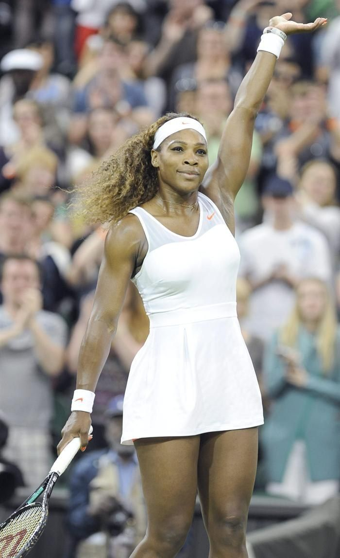 LONDON - The Championships Wimbledon ... 5X Champion & World #1 Serena Williams Into 2nd Week!!!....Serena's Title Defense on course as she advances to the Rd of 16 after beating Kimiko Date-Krumm 6-2, 6-0 in 61 minutes. #CONGRATS!! A wonderful display of Serena's guile to outplay the 42 yr old veteran who is known for using her opponents' power against them. 6/29/13 #TeamSerena