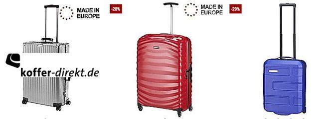 Billig koffer direkt