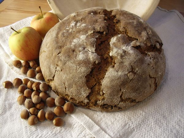 Apfel-Nuss-Brot gebacken von imBackwahn