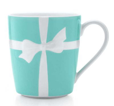 tiffany blue office. everything tiffany this u201ctiffany blueu201d bows mug is made of bone china blue office