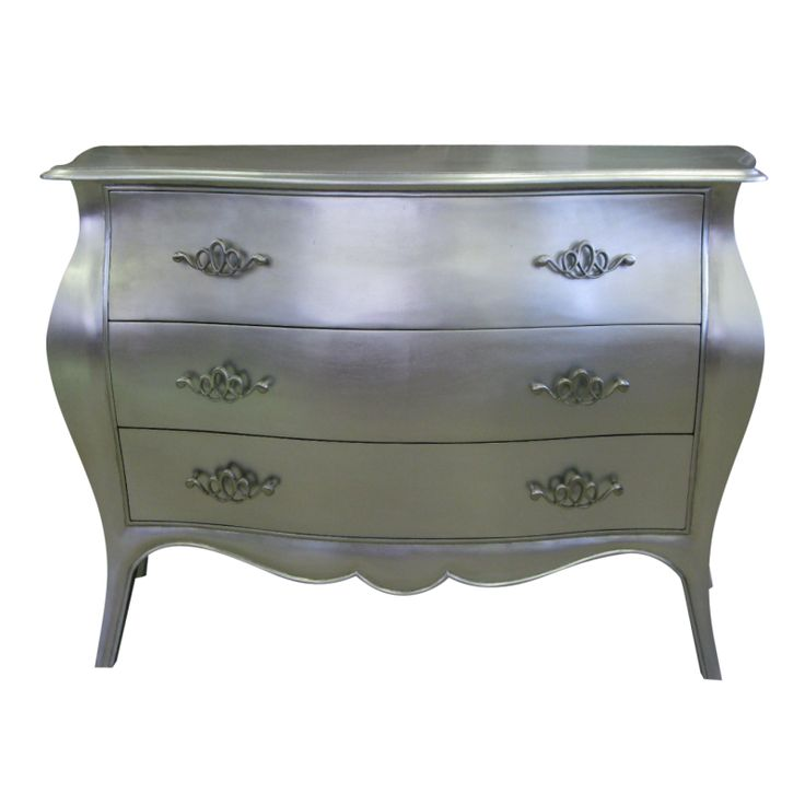 French Louis XV Style Silver Commode  http://www.europeandesign.com.au