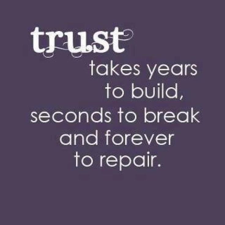 Trust takes years to build seconds to break and forever to repair | Anonymous ART of Revolution