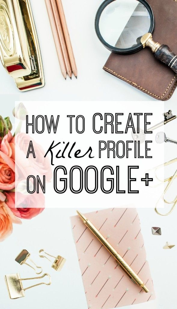 Did you know that you can increase your SEO by using Google+ This social platform is easy to use. Learn how to create a profile on Google+