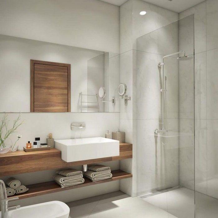 Salle De Bain Scandinave La Douche Chaude Venue Du Froid Bathroom