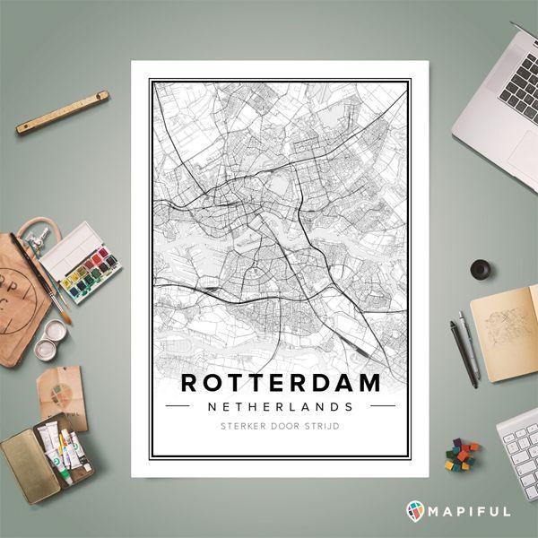 Ontwerp je eigen minimalistische landkaart | ELLE