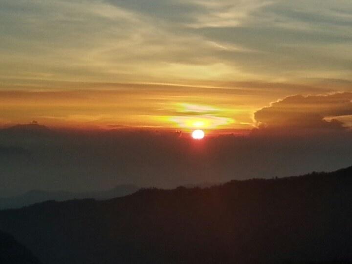Sunrise at Bromo Mt
