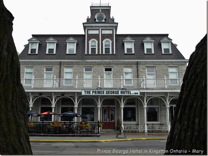 Kingston' Prince George Hotel