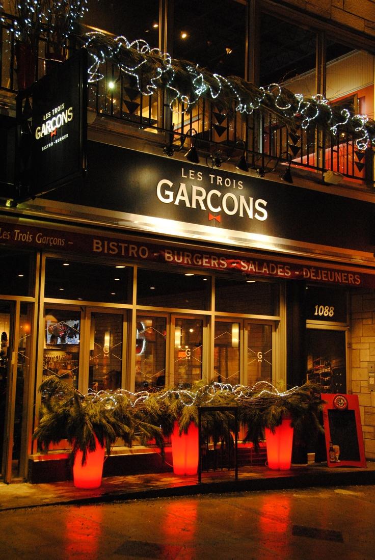 Restaurant Les Trois Garcons
