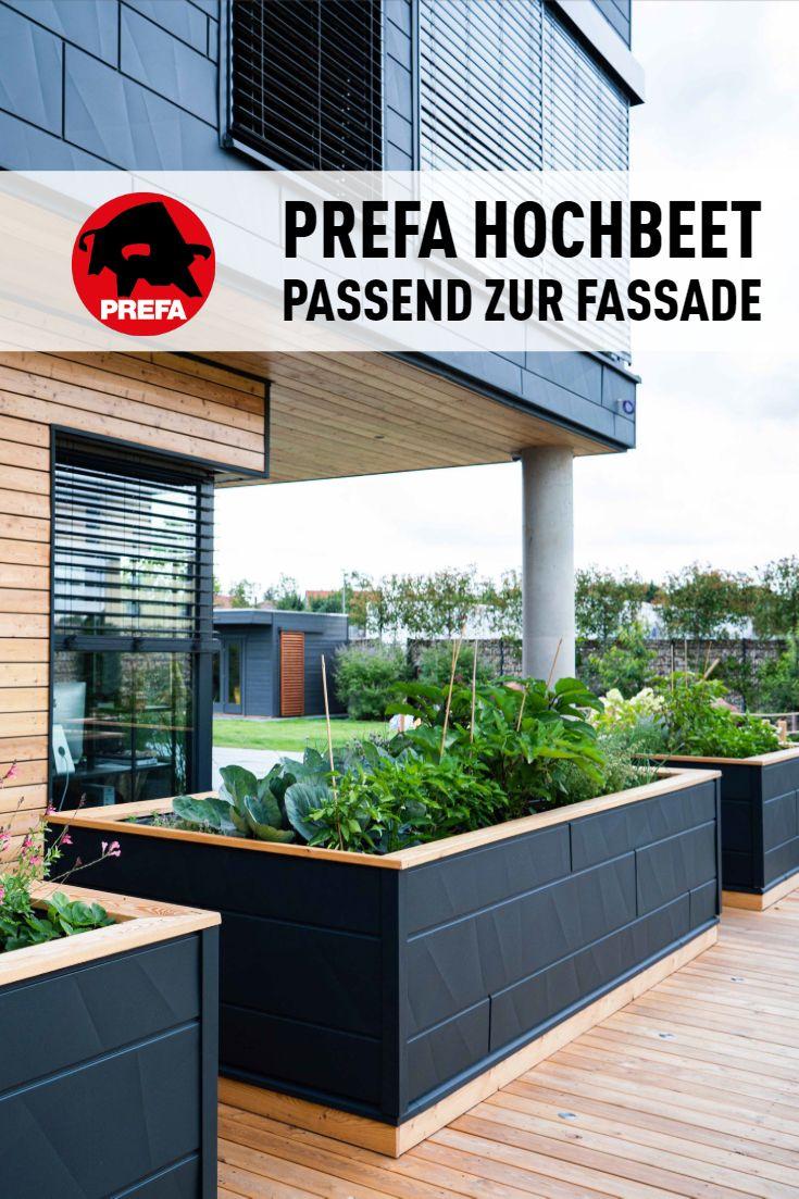 Inspiration Fur Das Hochbeet Prefa Hochbeet Gartengestaltung Hochbeet Garten Hochbeet