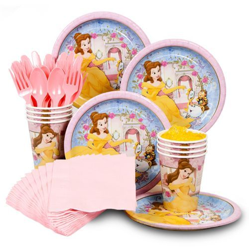 Belle Party Standard Kit -Princess Belle Party Supplies