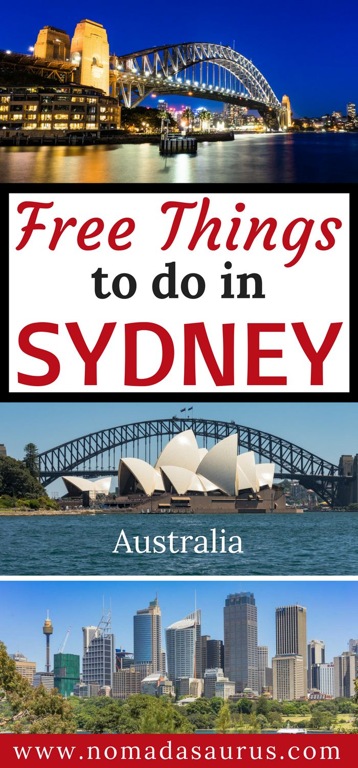 Here is a list of 15 free things to do in Sydney. Sydney should be on everyone's list of places to visit in Australia. It is a happening city with so much to do. You will never be bored.