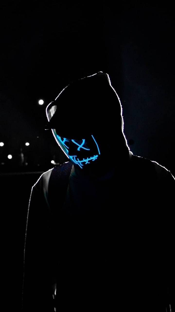 Download Neon Black Wallpaper By Blackify 7a Free On Zedge Now Browse Millions Of Popular Mask Wall Neon Wallpaper Joker Iphone Wallpaper Black Wallpaper