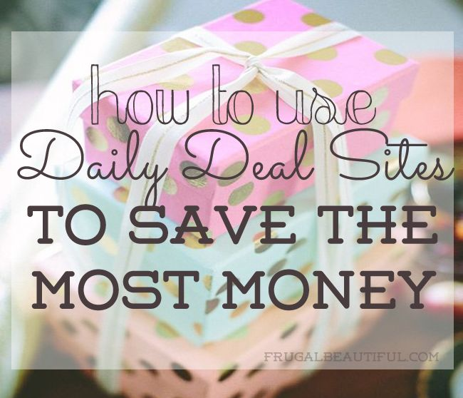Looking to save money while shopping? While using daily deal sites is great, you should make sure you're getting the most out of them. Here's how you can save the most money using daily deal sites!