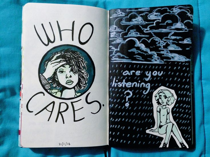 emilythesithlord: art journal p. 101 and 102 | JOURNAL INSPIRATION