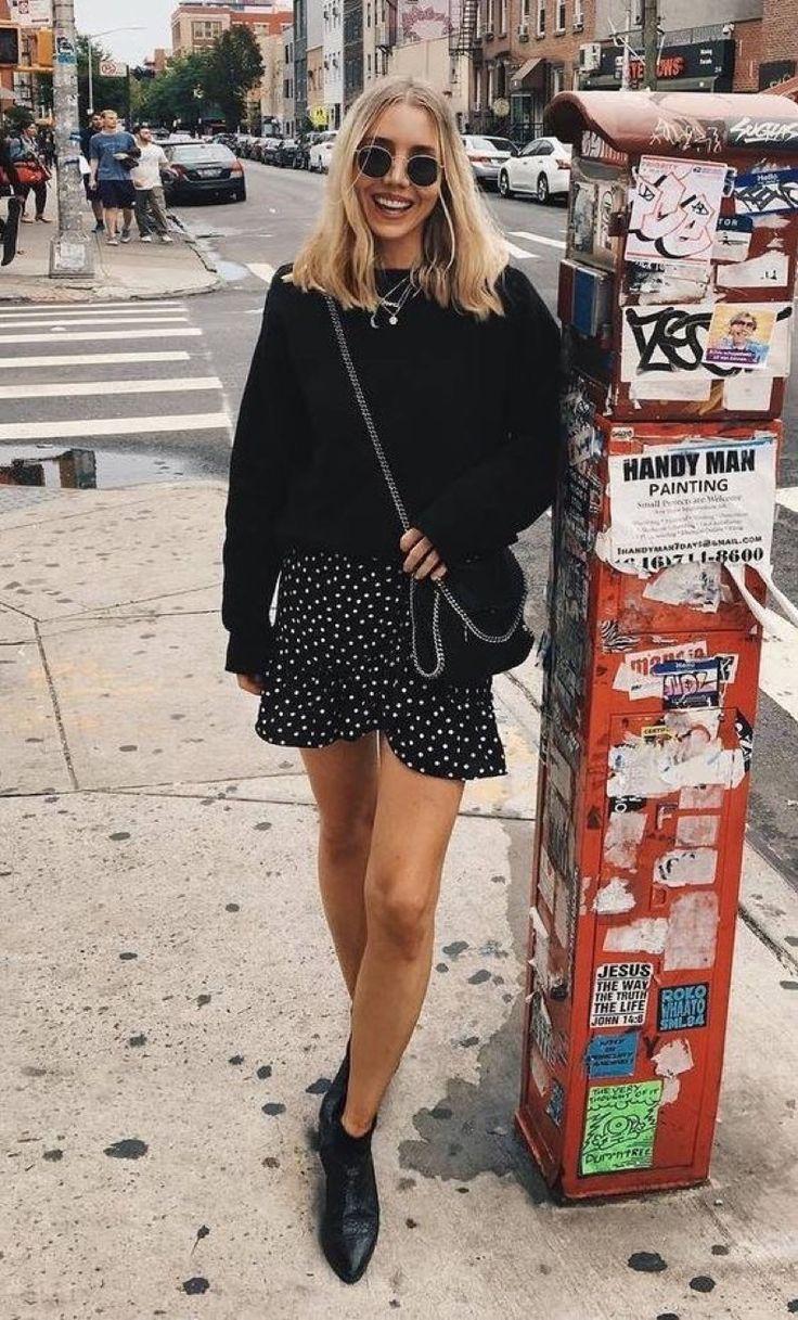 """Los Mejores Looks Con La Tendencia """"Polka Dots"""" Que Hemos Visto De Street Style"""