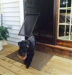 Screen Mounted Pet Doors for cats and dogs