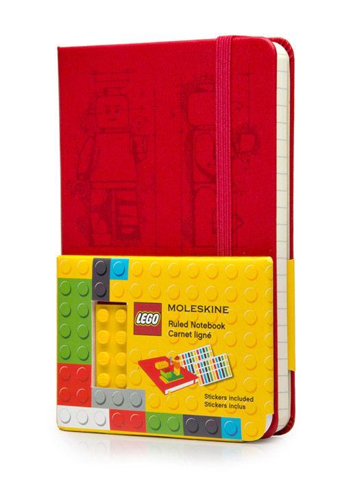 Notes Moleskine Lego kieszonkowy limitowana edycja czerwony w linie dostępny na fabrykaform.pl