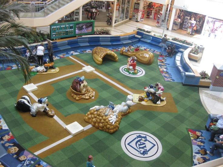 International Paza, Looney Tunes themed play area!