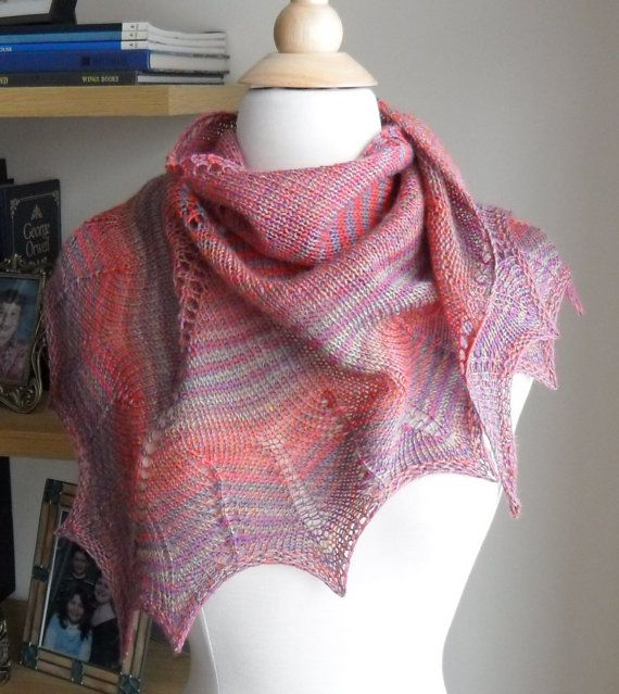1000 Images About Lace Knitting On Pinterest Free Pattern Lace And Triangles