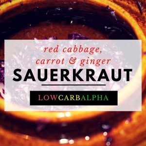 Fermented Carrot, Ginger, and Red Cabbage Sauerkraut Recipe