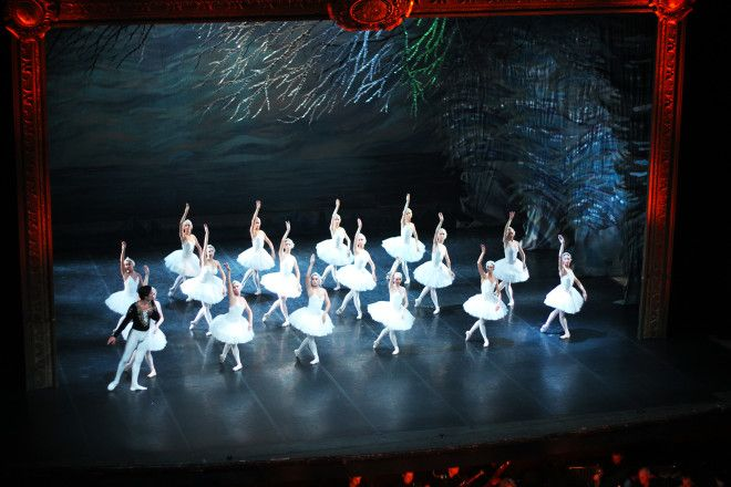 Swan Lake at the ballet in St Petersburg. Seeing the #ballet is an occasion every visitor to #Russia should try to experience!