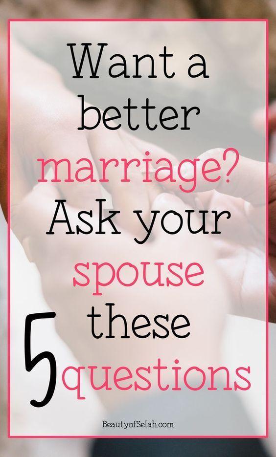 5 perguntas úteis para melhorar imediatamente o seu casamento   – Beziehung Ehe Relationship Marriage