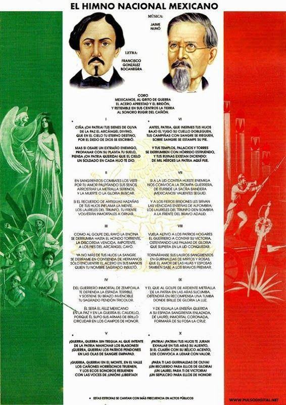 himno nacional mexicano - Buscar con Google